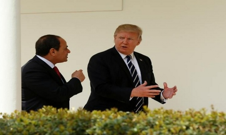 الرئيس الأمريكى: أثق بقدرة السيسى فى التعامل مع الإرهاب