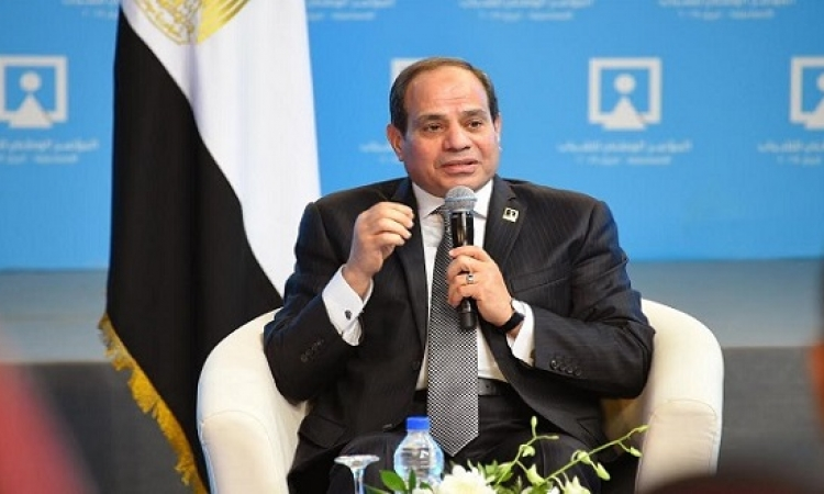 السيسى يشهد اليوم انطلاق المؤتمر الوطني السادس للشباب بجامعة القاهرة