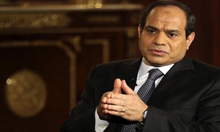 السيسى يدعو وسائل الإعلام لعدم الإساءة لمرشحى الرئاسة