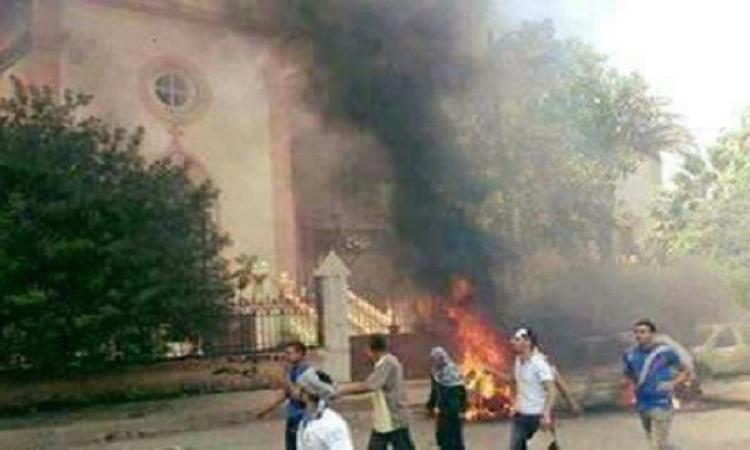 25 قتيلا ً و40 جريحا بتفجير استهدف كنيسة مارجرجس بطنطا