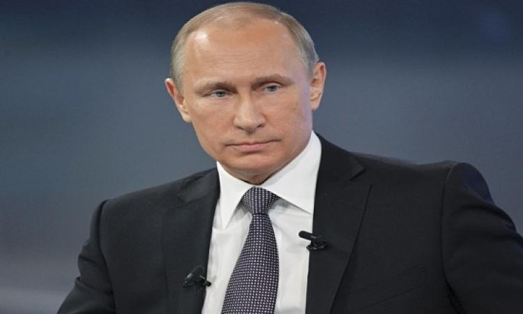 بوتين يعلن دعم روسيا للعالم الاسلامى لمواجهة الارهاب