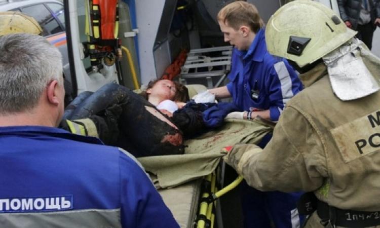 """مفجر مترو """"بطرسبورج"""" دخل المحطة قبل الحادث بـ20 دقيقة"""