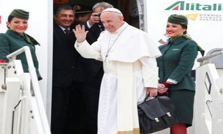 بث مباشر.. للزيارة التاريخية لبابا الفاتيكان إلى مصر