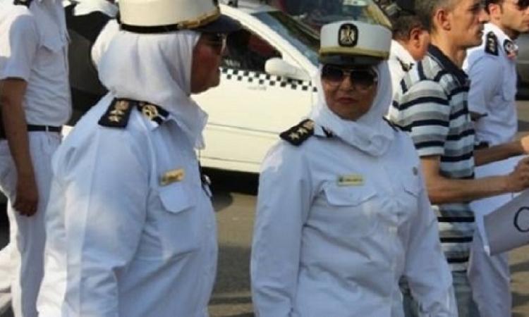 انتشار مكثف للشرطة النسائية لمكافحة التحرش بالأماكن العامة فى شم النسيم