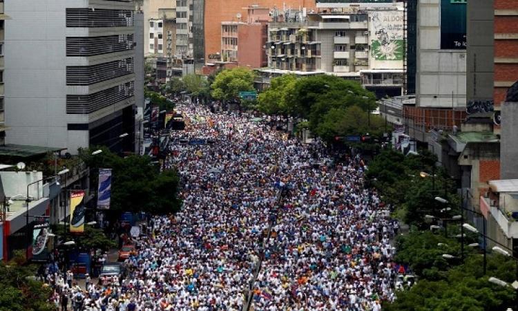 تواصل المظاهرات فى فنزويلا وارتفاع القتلى إلى 23