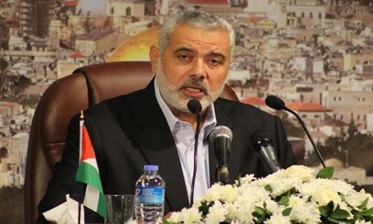 انتخاب إسماعيل هنية رئيسًا لحركة حماس خلفًا لخالد مشعل
