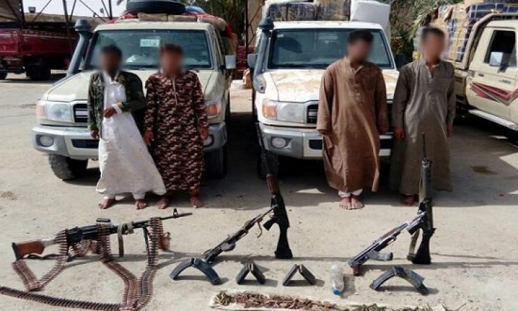 بالصور .. حرس الحدود تكتشف نفق بشمال سيناء وتضبط أسلحة وذخيرة