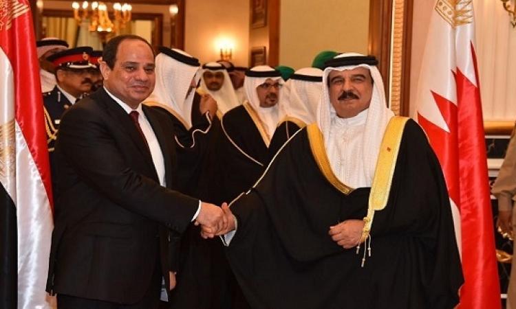 السيسى يزور البحرين اليوم لبحث المستجدات على الساحة العربية