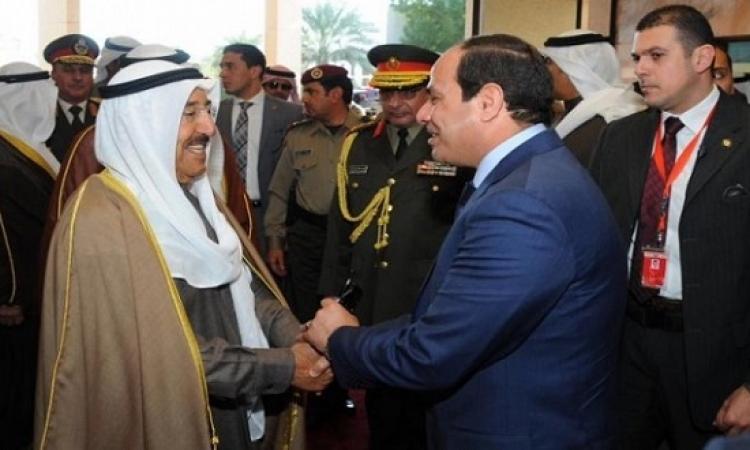 الرئيس السيسى يبدأ اليوم زيارة للكويت ومنها إلى البحرين