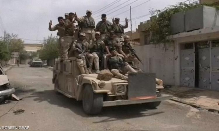القوات العراقية تسيطر على مواقع حيوية شمال الموصل