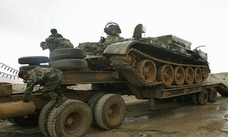الجيش السورى يرسل تعزيزات على الحدود مع العراق والأردن