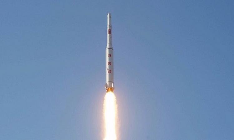 كوريا الشمالية تجرى تجربة صاروخية جديدة