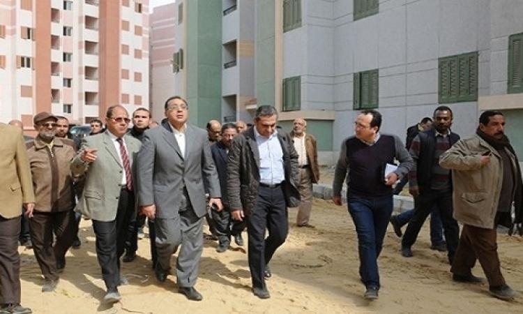 وزير الإسكان يفتتح نفق شارع التسعين بالقاهرة الجديدة