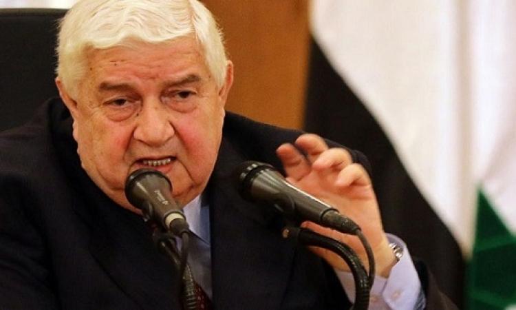 المعلم : دمشق ستلتزم باتفاق التهدئة حال التزام المعارضة به