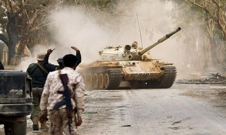 الجيش الليبى يسيطر على منطقة الجفرة قاعدتها الجوية بالكامل