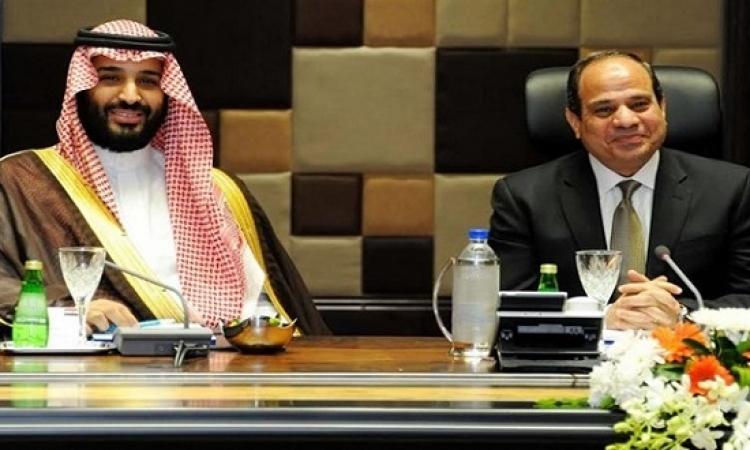 السيسى يهنئ الأمير محمد بن سلمان على مبايعته ولياً للعهد