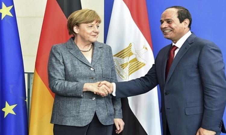 الرئاسة : زيارة السيسى لألمانيا يغلب عليها الطابع الاقتصادى
