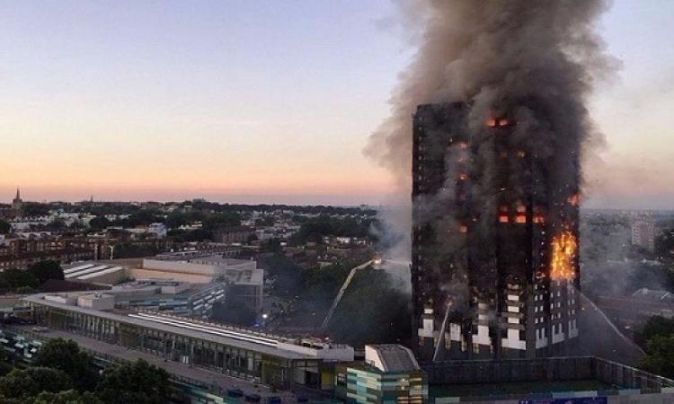 إخماد تام لحريق برج جرينفيل فى لندن