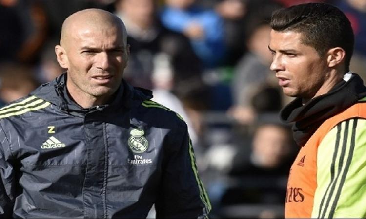 زيدان يتدخل لإقناع رونالدو بالبقاء فى ريال مدريد
