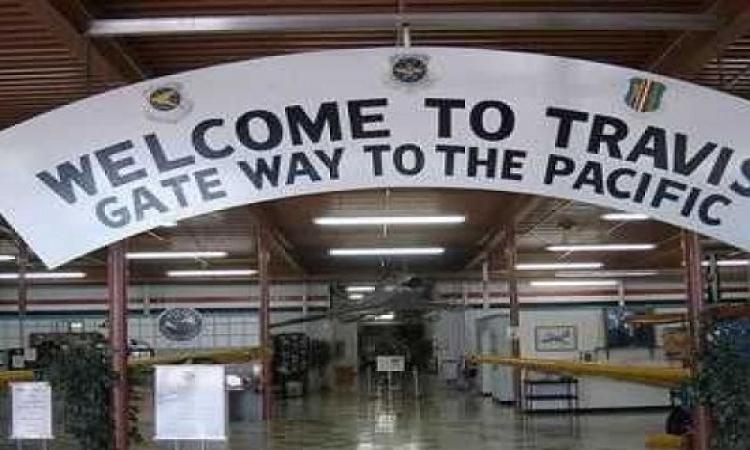 إطلاق نار داخل قاعدة ترافيس الجوية بكاليفورنيا