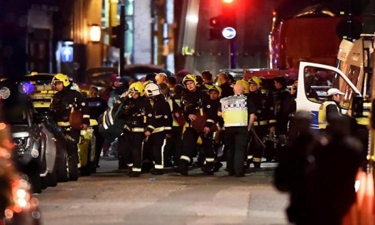 الارهاب يضرب لندن مجدداً .. 7 قتلى وهوية الجناة مجهولة