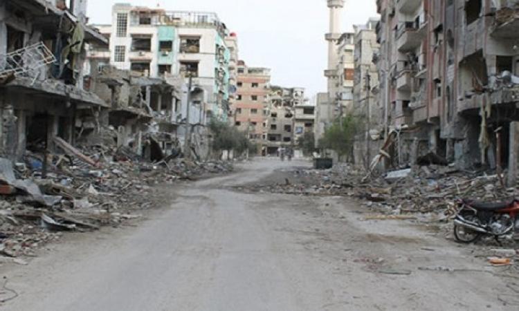 مصرع 5 أطفال بانفجار لغم فى الغوطة الشرقية