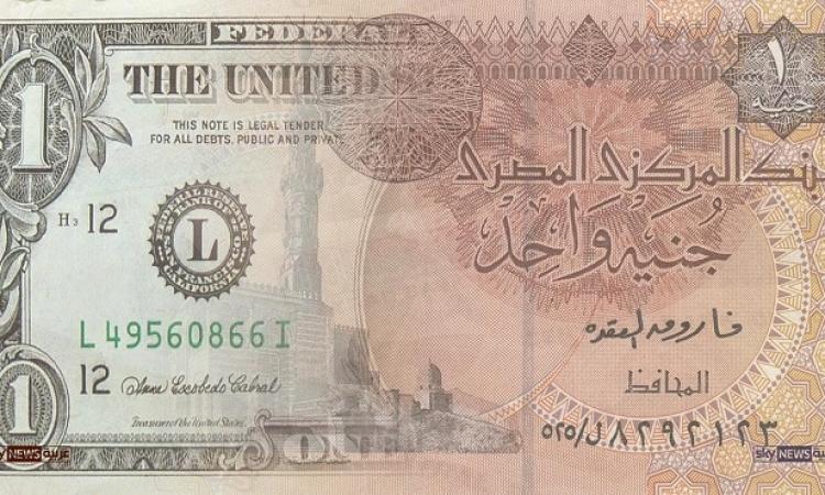 75 قرشا خسائر الدولار أمام الجنيه فى شهرين