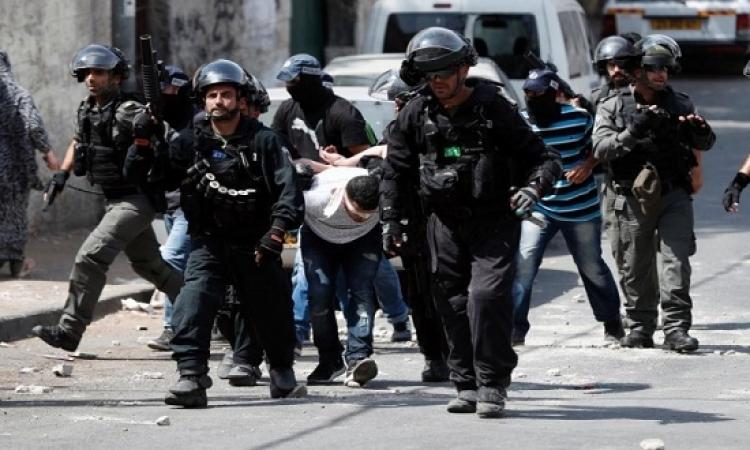 إسرائيل تعتقل 42 فلسطينيا فى القدس والضفة الغربية