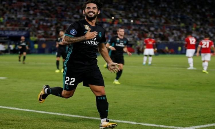 ريال مدريد يتوج بلقب كأس السوبر الأوروبى للمرة الرابعة
