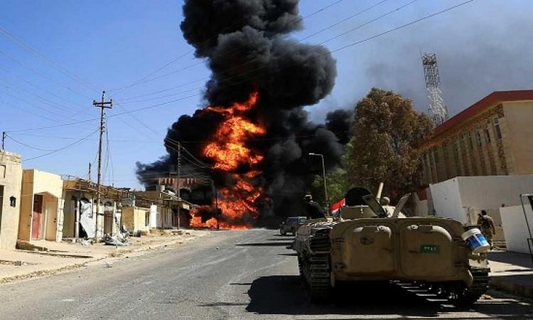 الجيش العراقى يعلن استعادة وسط تلعفر