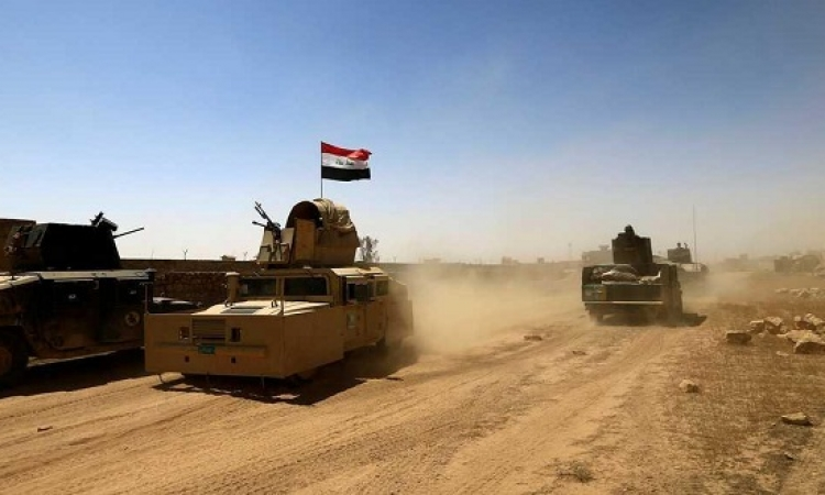 الجيش العراقى يطلق عملية عسكرية لتعقب داعش فى حوض الندا شرق ديالى