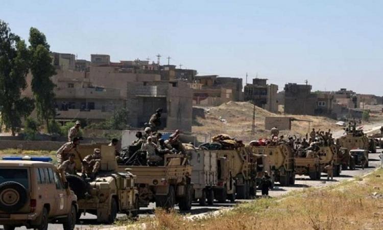 الجيش العراقى يعتقل مطلوبين ويعثر على مخبأ لمواد متفجرة جنوب بغداد