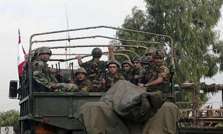 الجيش اللبنانى يسيطر على مواقع لداعش قرب الحدود السورية