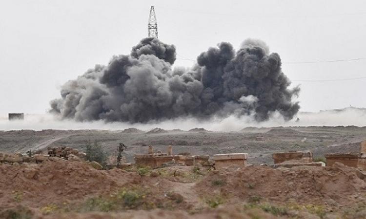 غارة روسية تقتل 200 من مقاتلى داعش فى دير الزور