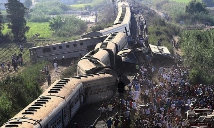 سائق قطار القاهرة: لم أتلق إشارة من برج المراقبة بالوقوف