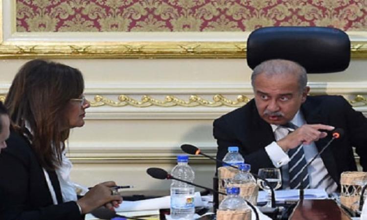 شريف إسماعيل يستعرض مع وزيرة التخطيط جهود بناء المدارس اليابانية