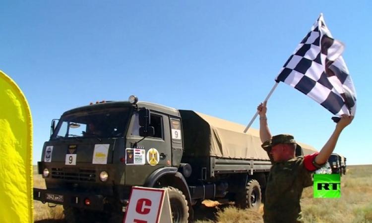 الجيش المصرى يحتل المرتبة الثانية فى «رالى» السيارات العسكرية الدولى