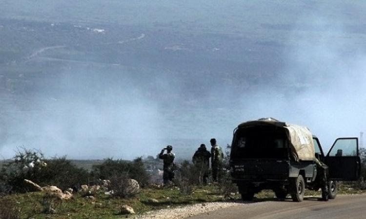 الجيش اللبنانى يقصف مواقع داعش فى جرود القاع ورأس بعلبك