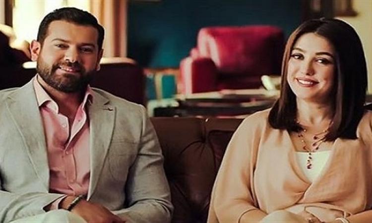 """بالصور.. كندة علوش تحتفل بالذكرى الأولى لزواجها بعمرو يوسف: """"ربنا يخليك ليا"""""""