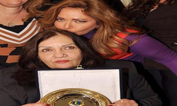 وفاة والدة ليلى علوى والجنازة بعد المغرب بمصر الجديدة