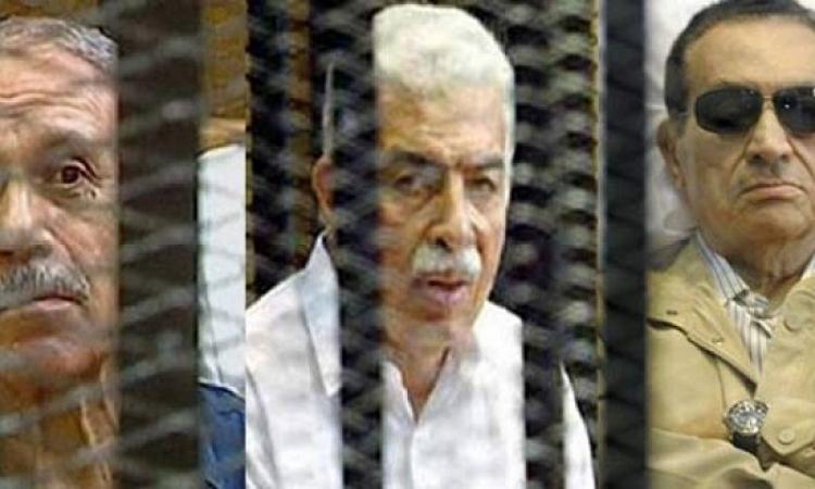 الحكم اليوم فى طعن مبارك والعادلى ونظيف فى قضية قطع الاتصالات