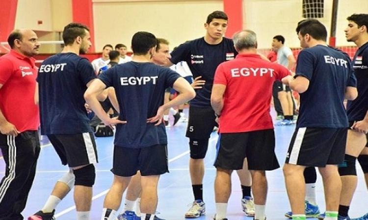 مصر فى مواجهة حاسمة مع المكسيك فى بطولة العالم لشباب الطائرة