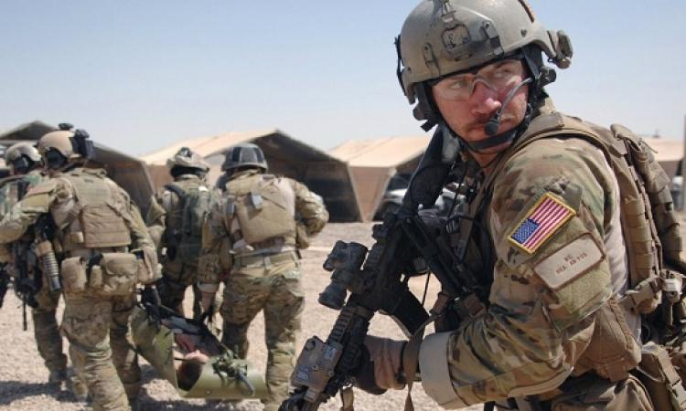 القوات الامريكية تقوم ببناء قاعدة عسكرية بالقرب من تلعفر العراقية