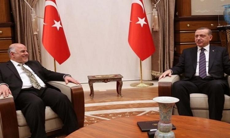قمة تركية – عراقية بين ارودغان والعبادى لبحث استفتاء كردستان