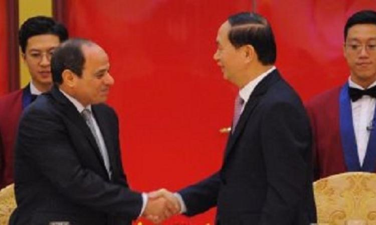 غدا .. الرئيس السيسى يشهد منتدى الأعمال المشترك مع فيتنام