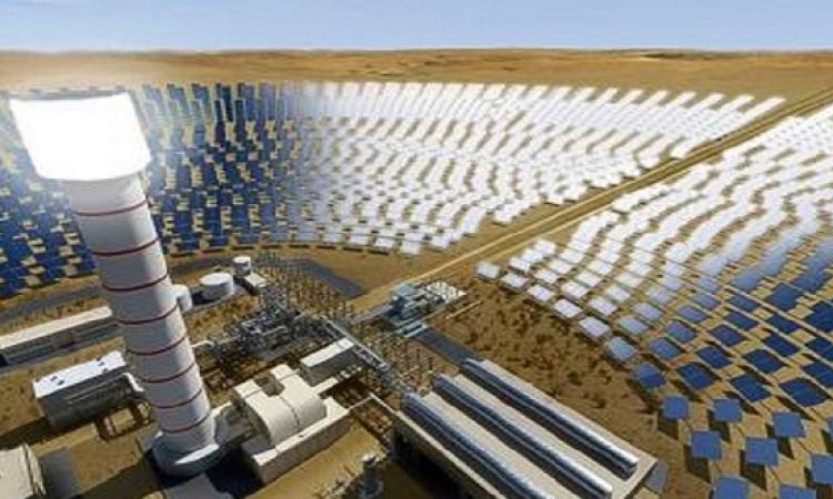 تحالف سعودى – صينى يفوز بأكبر مشروع للطاقة الشمسية فى العالم بمجمع محمد بن راشد بدبى