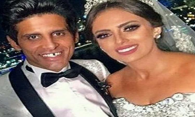 """بالصور..  حمدى الميرغنى يتغزل فى زوجته إسراء عبد الفتاح على """"إنستجرام"""""""