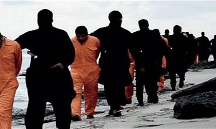 كشف موقع جريمة داعش بحق الأقباط المصريين ومكان الدفن