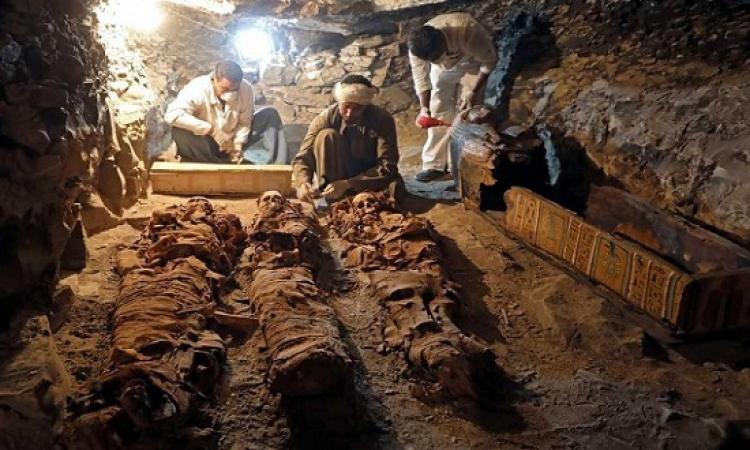 بالصور .. اكتشاف ضخم لمقبرة صانع مجوهرات فى الاسرة الـ 18 بالاقصر