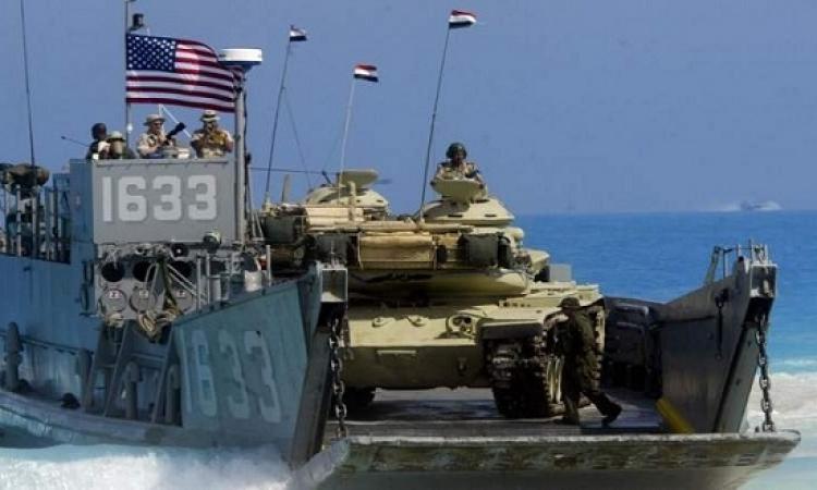 بدء مناورات النجم الساطع بين مصر وأمريكا